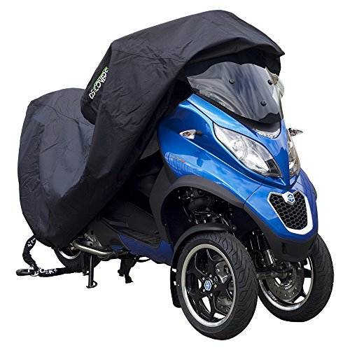 DS Covers 73160621Alfa-Motorrad-Abdeckung, Medium, in Schwarz