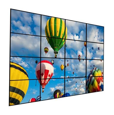 Videowall 4x4 Wandhalterung (16 Monitor)