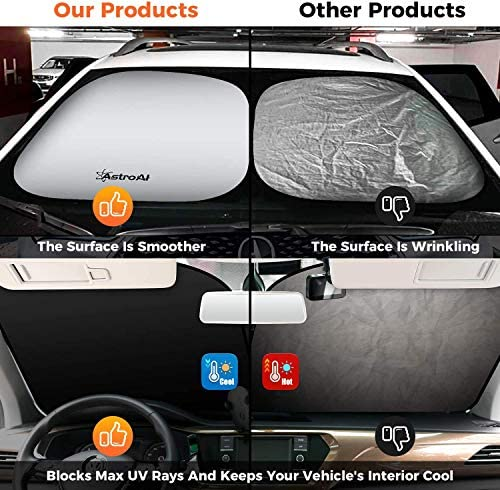 Car sun shade material fabric _image0