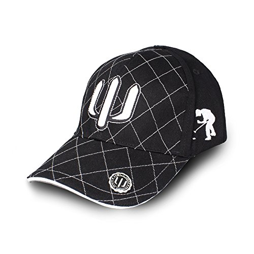 HELLION Golfcap Trident : Perfekter Sonnenschutz, lässiger Golfer Look (gibt' auch als Golf Polo Shirt und Gürtel) (M/L)