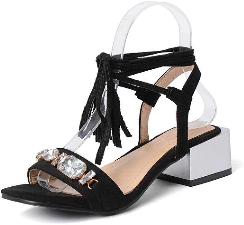 BalaMasa Womens Solid Charms Travel Urethane Sandals ASL05460