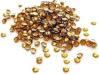 Spikes Termocolante Redondos Sextavados Dourado 200 Unidades