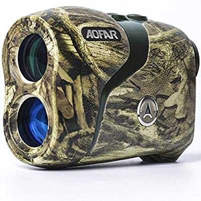 AOFAR H3 Hunting Range Finder 800 Yards, Wild Waterproof Coma Rangefinder for Shooting and Archery with Angle and Horizontal Distance, Range and Bow Mode, Gift Package by AOFAR