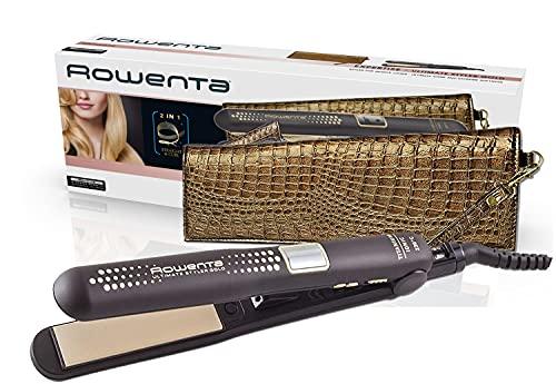Rowenta Ultimate Styler Gold SF6021 Plancha pelo recubrimiento de cerámico,...