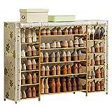 xuejuanshop Zapatero Zapato Rack Zapato Gabinete Mueble de Almacenamiento Super Capacidad Zapato Torre de Zapatería Rack de Almacenamiento Zapatera (Color : A)