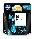 HP 10 C4844A, Negro, Cartucho Original de Tinta, compatible con impresoras de inyección de tinta HP Business Inkjet 2500cm,3000dtn; DesignJet 815,820 MFP; DesignJet Serie 500,500 Plus