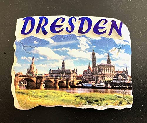 Dresden,Deutschland 3D Kühlschrankmagnet Souvenir, Polyresin ,Fridge Magnet,Germany 280301