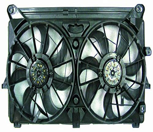 DEPO 335-55042-000 Replacement Engine Cooling Fan Assembly (This product is an aftermarket product. It is not created or sold by the OE car company)