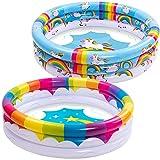 Piscina Inflable para niños o bebés, Unicornio Arco íris, diversión de Verano, para Mayores de 3 años