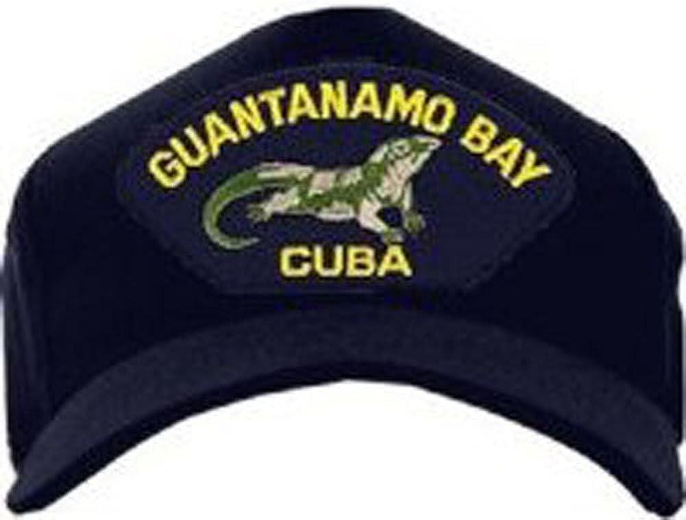 Guantanamo Bay Cuba Baseball Navy Popular standard Regular store Blue Hat