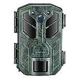 APEMAN 4K 30MP WLAN Bluetooth Wildkamera mit Nachtsicht IP66 Wasserdicht Überwachungskamera für Tierwelt Überwachung