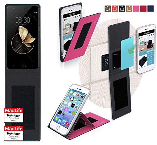 reboon Hülle für Archos Diamond Gamma Tasche Cover Case Bumper | Pink | Testsieger