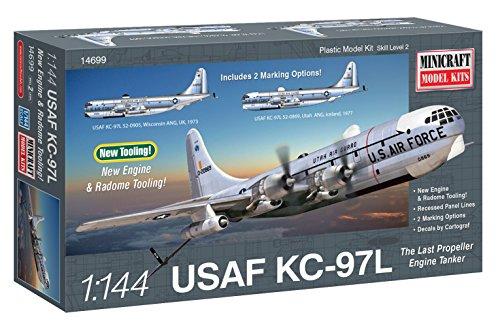 Minicraft Models Dempsey Designs modèles 1 : 144 Échelle U.s.a.f Kc-97l Tanker modèle kit