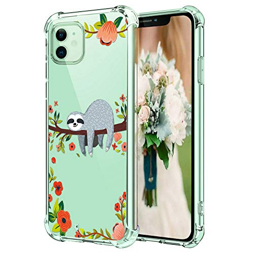 ChyFS Phone Case for iPhone 11 Skull Clear Case Crystal Protective Case for iPhone 11.