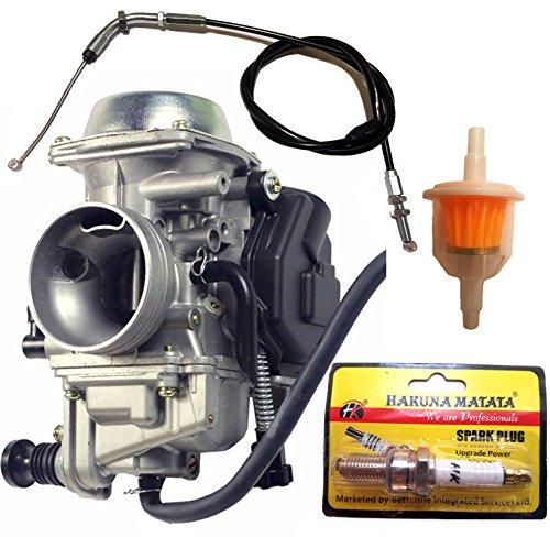 PROCOMPANY Replacement Carburetor Compatible with Honda ATC250ES ATC250SX ATC 250 Big Red 1985 1986 1987 16100-HN5-M41