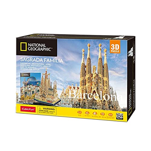 World Brands Puzzle 3D Sagrada Familia, Multicolor (Tachan DS0984h)