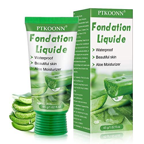 Base de Maquillaje,Base Líquida,Hidratante Líquido Base,Base de maquillaje Cobertura completa Nuevo,Concealer Cover...