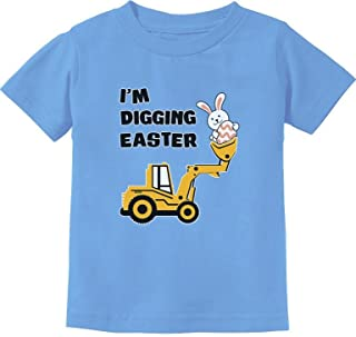 I'm Digging Easter Gift for Tractor Loving Boys Toddler/Infant Kids T-Shirt