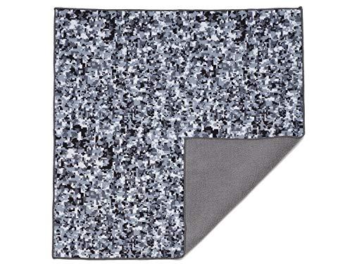 Easy Wrapper selbsthaftendes Einschlagtuch schwarz/Weiss Camouflage Gr. M 35 x 35 cm