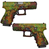 Wrap Compatible with Pistol - Rust | MightySkins GunWraps Protective, Durable, and Unique Vinyl Handgun Wrap Kits | Easy to Apply, Remove, and Change Styles | Made in The USA