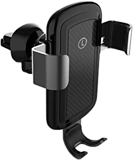 Wireless Car Charger, Automatic Clamping Wireless Car Charger Mount Gravity Sensor 360°Rotating Compatible Galaxy S10/Note...