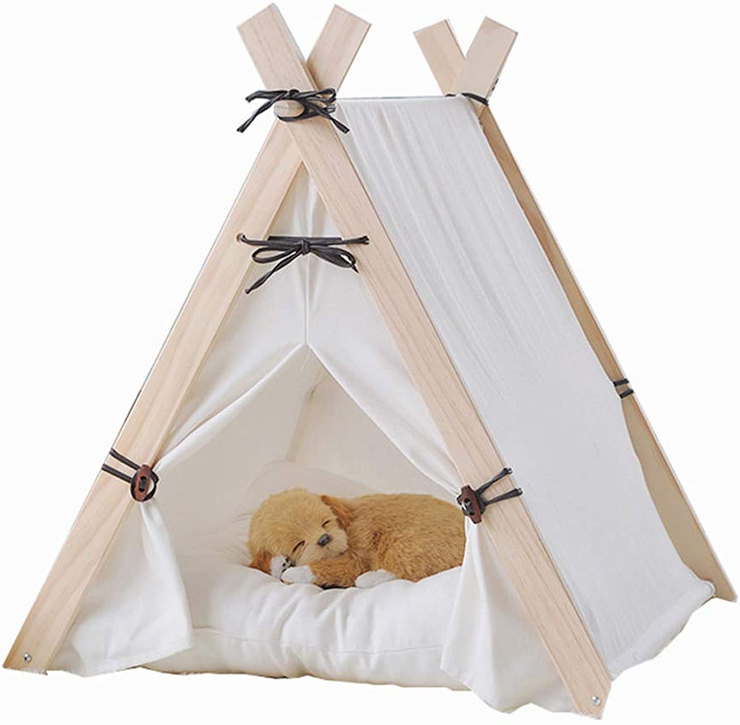JIANXIN Pet Tent, SemiEnclosed Cat Nest, Kennel, Portable Folding, Suitable for Cats and Small Dogs, Suitable for All Seasons