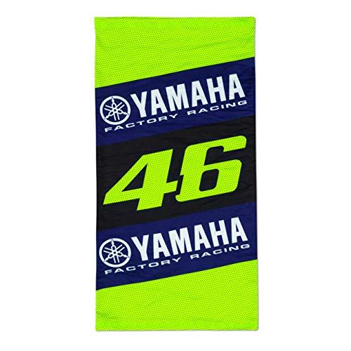 Valentino Rossi Collezione Yamaha Dual, Scaldacollo Unisex, Nero, Unica