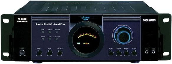 Pyle 3000 Watt Power Amplifier - 1 Year Direct Manufacturer Warranty