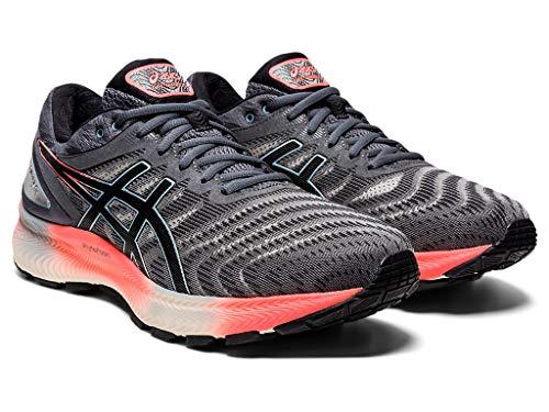 ASICS Zapatillas de correr Gel-Nimbus Lite para hombre, gris (Portaequipajes gris/negro.), 48 EU