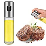 FONNOR Oil Sprayer for Cooking - Portable Olive Oil Sprayer Mister, Refillable Oil and Vinegar...