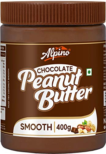 Alpino Chocolate Peanut Butter Smooth 400 G | Made with...