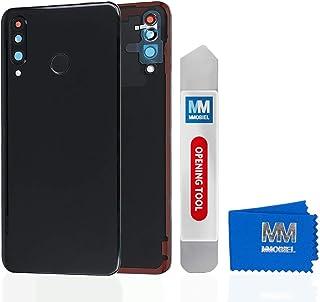 MMOBIEL Backcover Akkudeckel Rückseite Rück Klappe kompatibel mit Huawei P30 Lite 6.1 inch 2019 (Schwarz)