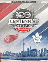 2017 CENTENNIAL CLASSIC GAME PROGRAM NHL TORONTO MAPLE LEAFS DETROIT RED WINGS