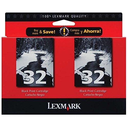 Lexmark # 32P915/P4350/P6250/X3350/X5250/X5270/X5470/X7170/X7350/X8350/Z816negro cartucho de práctico Nueva