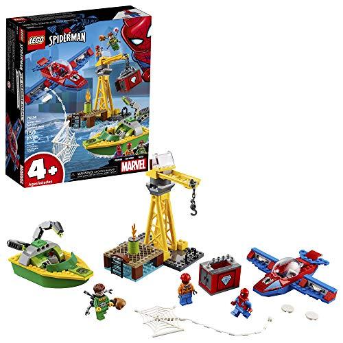 LEGO Marvel Spider Man Spider-Man: Doc Ock Diamond Heist 76134 Building Kit (150 Pieces) (Discontinued by Manufacturer)