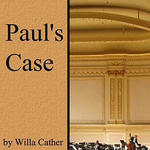 Paul's Case audiobook cover art