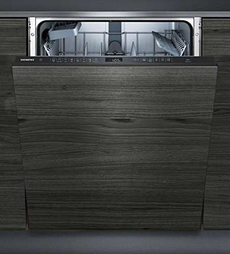 Siemens IQ500vollständig integriertes sn658d02ie 13places A + + Spülmaschine–Geschirrspülmaschinen (komplett integriert, Full Size (60cm), schwarz, griffig, 1,75m, 1,65m)