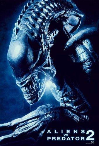 Aliens Vs. Predator: Requiem 27 x 40 Movie Poster - Style D by postersdepeliculas