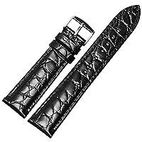[エイト]腕時計ベルト 20mm ブラック レザー ELB195 [並行輸入品]