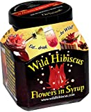 Wild Hibiscus Flowers in Syrup, 12 Pack