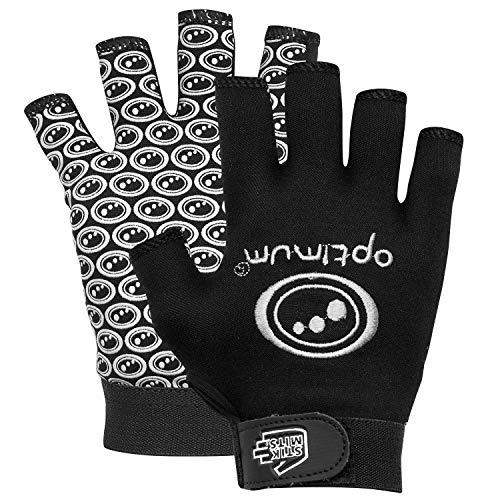 OPTIMUM Handschuhe Rugby Grip schwarz M