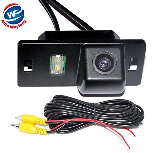 Auto Wayfeng WF® Auto Vista posterior de copia de seguridad cámara de marcha atrás para Audi A3/A4 (B6/B7/B8)/Q5/Q7/A8/S8