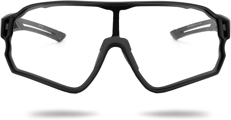 ROCKBROS Photochromic Sunglasses for Bombing new work 2021 Spor Cycling Men