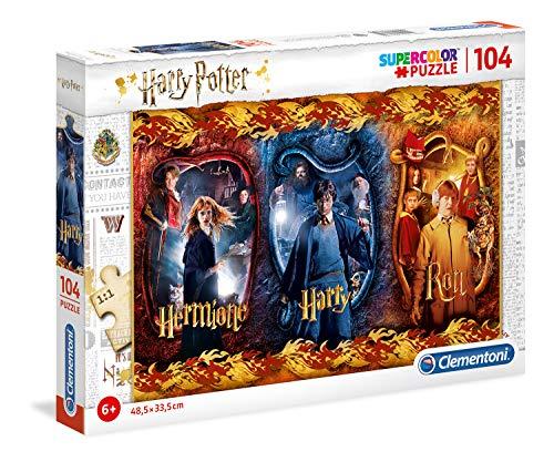 Clementoni Rompecabezas de Harry Potter de 104 Piezas para niños, Multicolor (61885)