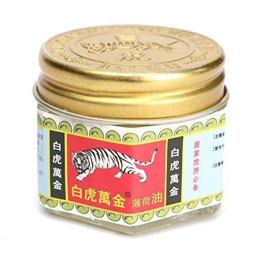 happyhouse009 Tiger Kräutersalbe Öl Minzbalsam Aktivcreme Muskelschmerzen schmerzlindernd Kräutersalbe Öl goldfarben