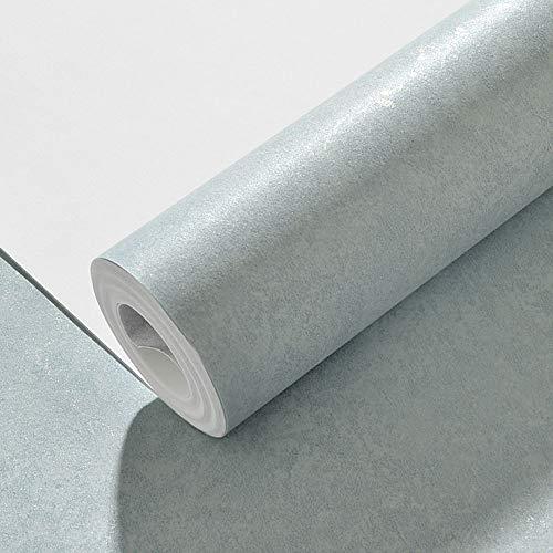 Papel Tapiz no Tejido de Color Liso del país Americano. Dormitorio Simple sofá de la Sala de Estar Fondo Papel Tapiz de Color sólido (Color : Light Blue)