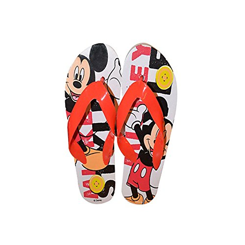 Disney Tongs enfant La Reine des Neiges Mickey Sofia Cendrillon Spiderman Avenger - Bleu - Mickey Mouse, 46 EU