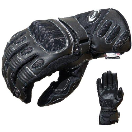 PROANTI Motorradhandschuhe Winter Regen Touring Motorrad Handschuhe (XL)