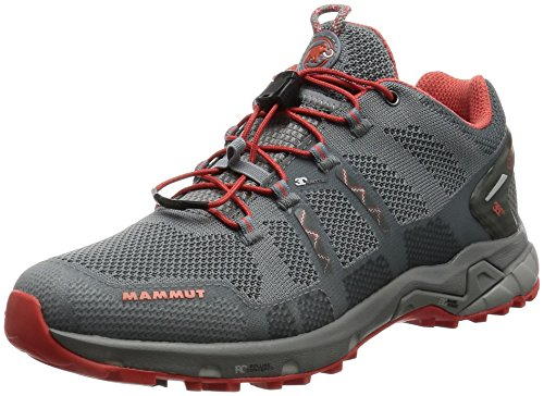 Mammut T Aegility Low GTX Women Backpacking/Hiking Footwear (Low), Color:Neutral Grey-Barberry, Size:4 UK / 37 EUR