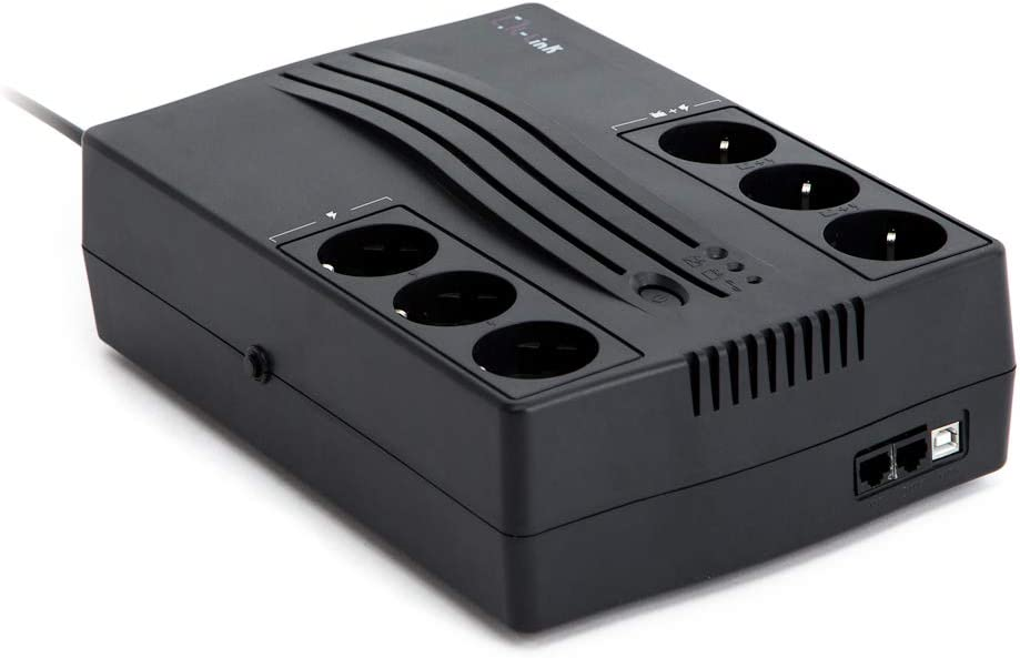 L-Link | Sistema de Alimentacion Ininterrumpida para Pc | Sai 1200VA Softw. Control LL-1200-G6